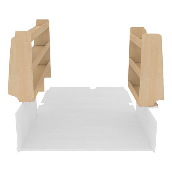 Pack casiers bois