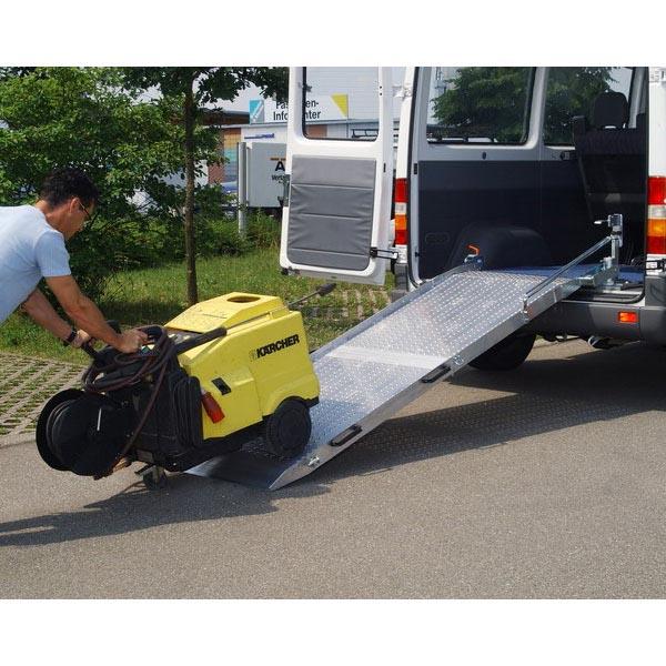 Rampe repliable fixe et orientable en alu (L=2600 mm / l ext.=1020 m
