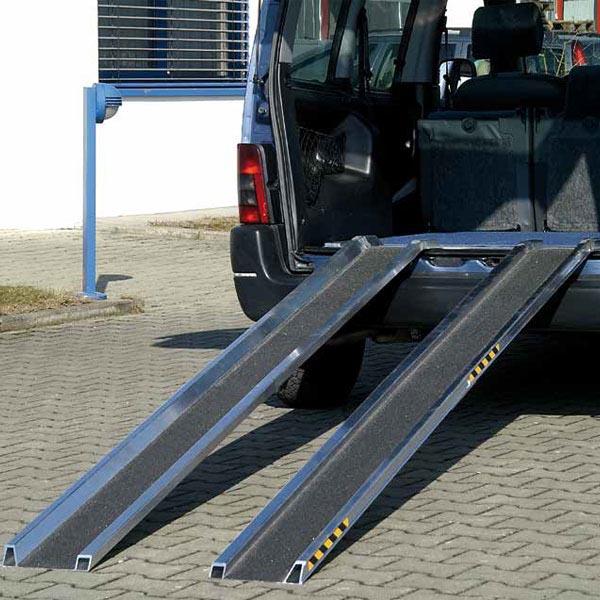 Rails de chargement en aluminium L=3000
