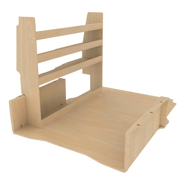 Aménagement bois optimum K4 CP brut