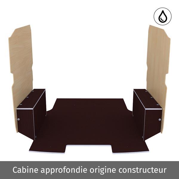 Aménagement bois optimum K5 CP antidérapant + vernis