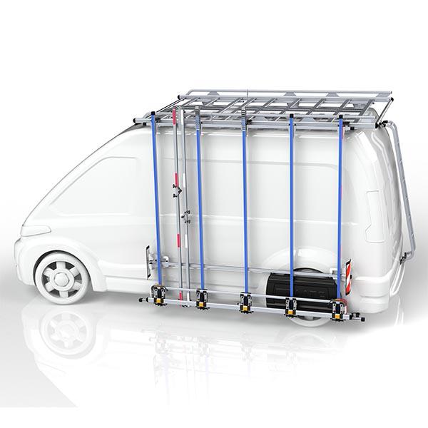 Porte-charge latéral en aluminium
