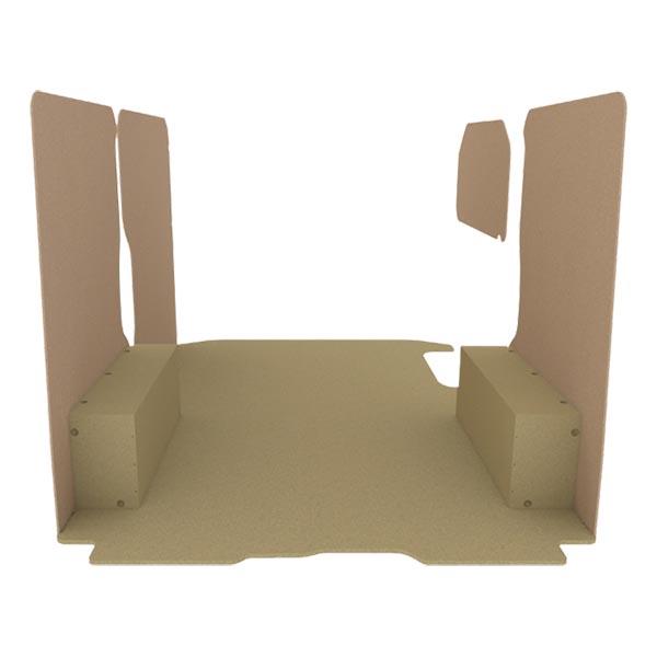 Habillage bois natural K2 aggloméré + MDF / Portes arrière incluses