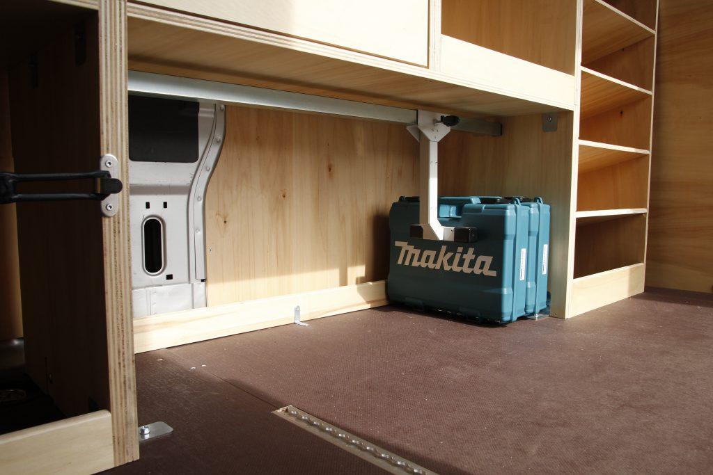 Kit arrêt valise pour aménagement fourgon