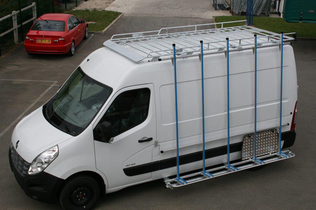 Porte charge sur Renault Master