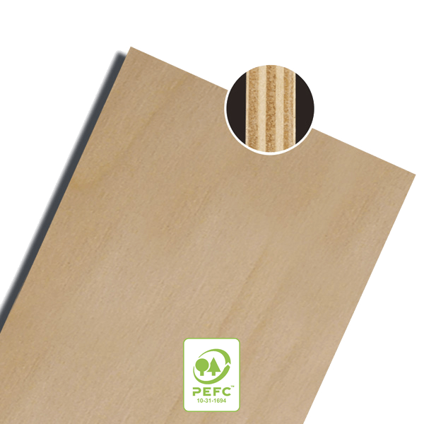 plancher contreplaqué bois brut