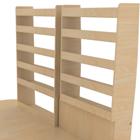 étagères en bois kit utilitaire
