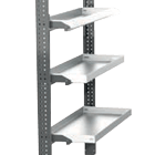 etagere metal repliable
