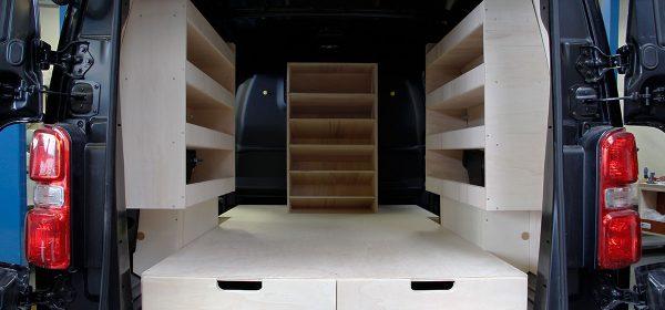 Peugeot Expert aménagement double plancher