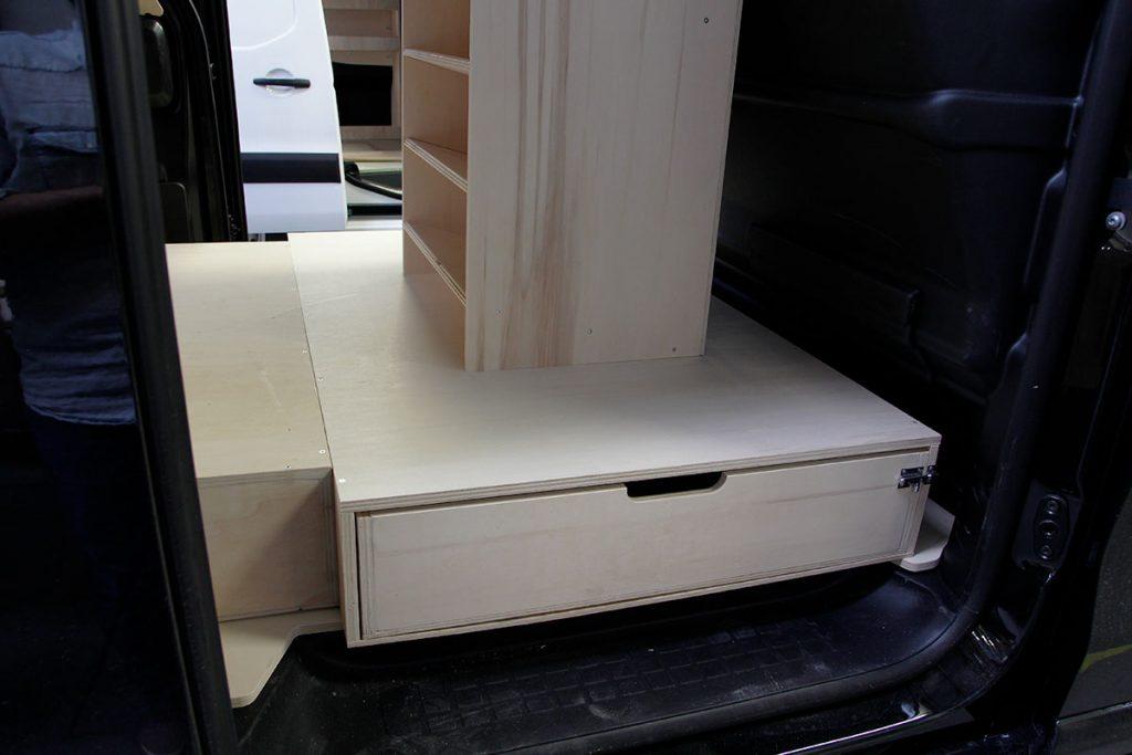 Peugeot expert double plancher latéral
