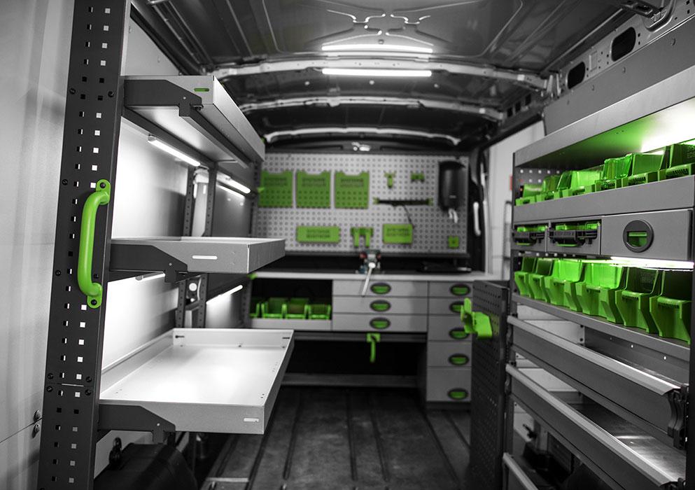 etagere casier metal