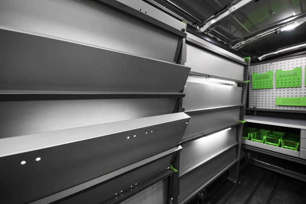 etagere de rangement metallique